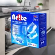 Таблетки для посудомоечных машин 16 ед. в упаковке Br!te  5 в 1 МО-010