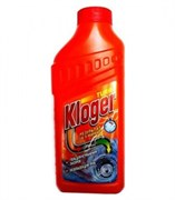 Гель д/чистки труб Kloger Turbo 500мл/20шт/уп /039256/