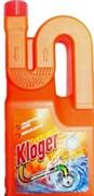 Гель для прочистки труб Kloger Turbo 1000 мл/18шт/уп /039263/
