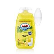 Гель для унитаза Kloger Лимон 400мл /12шт/ ЧЕХИЯ (028786)