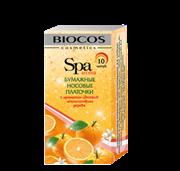 Платки Biocos бумажные АРОМА-ЦВЕТ-апельсин дерево 10шт /BIO8023/