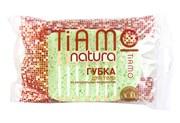 Губка для тела TIAMO Natura ОВАЛ, целлюлоза (30)   /7690/