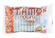 Губка для тела TIAMO Natura ОРИГИНАЛ, целлюлоза+массаж  (30)  /7709/