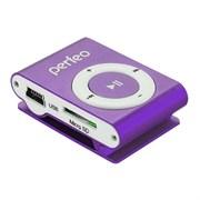 Цифровой аудио плеер Perfeo Music Clip Titanium, Фиолетовый (VI-M001 Purple)