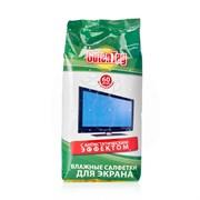 Салфетки влажные Guten Tag  для экранов мониторов 60шт/24шт/уп /028533/ *