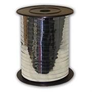 Лента металлизированная (0,5см х 250м) Серебро RC-OS5